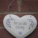 Personalised Heart For Mothers