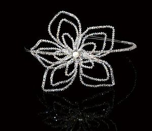 LIly Tiara - wedding jewellery