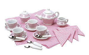 Girl's Picnic Tea Set - traditional toys & games