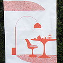 Tea and Cakes Teatowel
