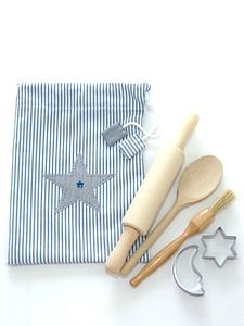 Handmade Children's Baking Set Bag - toys & games