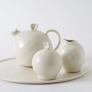 Handmade Tea Set - tableware