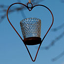 mini hanging heart
