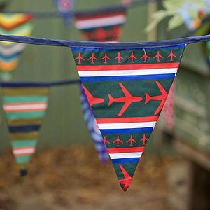 'Cool Boys' Dutch Bunting - outdoor decorations