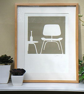 Chair Print - art & pictures