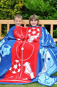 Football Blanket - soft furnishings & accessories