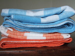 Check Blanket - throws, blankets & fabric