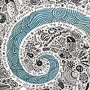 Sea spiral detail