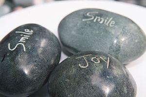 Fair Trade Message Inscribed Pebbles - home accessories