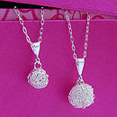 You and Me Silver Necklaces