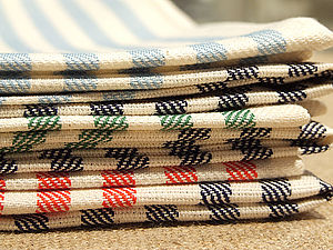 Linen Tea Towels Various Colours and Designs - kitchen