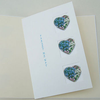 Forget Me Not Seed Card