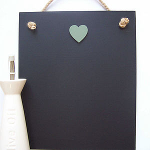 Heart Chalk Boards - kitchen accessories