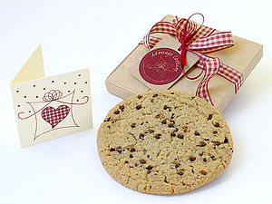 Single Gift Boxed Message Cookie - biscuits