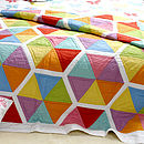Honeycomb Bedspread Single
