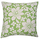 Blossom Cushion Green