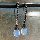 Beaded Opalite Earrings