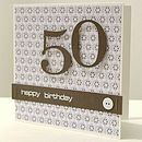 Retro Handmade Birthday Age Card