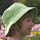 Chatterpants green sun hat