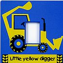 Digger Light Switch Cover
