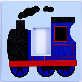 Train Light Switch Cover