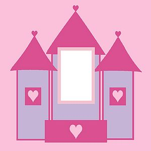 Fairy Castle Light Switch Cover - children's room accessories