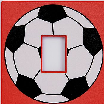 Red Football Switch Cover