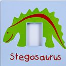 Stegosaurus Switch Cover