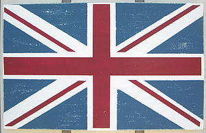 Union Jack... Antiqued Wooden Sign - shop by price