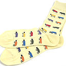 Bright Sheep Socks