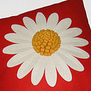 Daisy Cushion Detail
