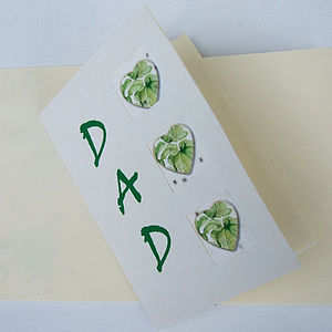 Basil Seed Card for Dad
