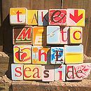 Take Me To The Seaside