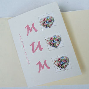 Mother's Day Night Scented Stock Seed Card