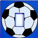 Blue Football Switch Cover