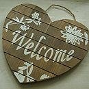b welcome heart