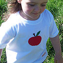 Eco-fi apple t-shirt