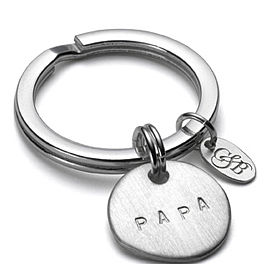 Personalised Papa Key Ring