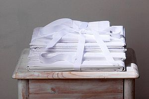 Pure White Bedlinen: Fitted Sheets - bedroom