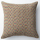 CUSHION PETIT POIS BROWN/LIME