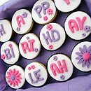 12 Happy Birthday Cupcakes