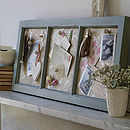 Antique Style Wooden Memo Board