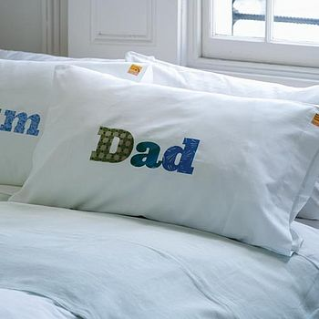 'dad' pillowcase