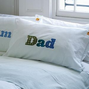 'Dad' Pillowcase - gifts for him