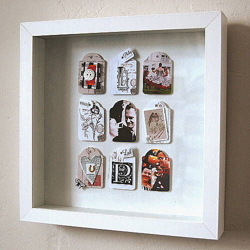 personalised wedding keepsake picture by leah halliday