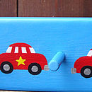 car peg rack_bright blue