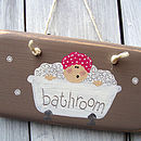 bather plaque_driftwood