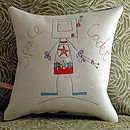 Personalised Boys Cushion