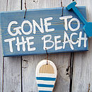 GTT beach sign_peacock blue