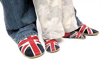 Slippers Union Jack